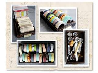 71 12605 7gypsies Library Drawer with Index Cards Detail Page