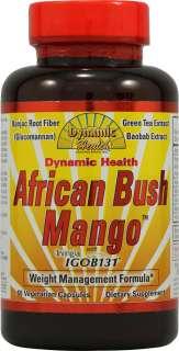 Dynamic Health African Bush Mango™    60 Vegetarian Capsules