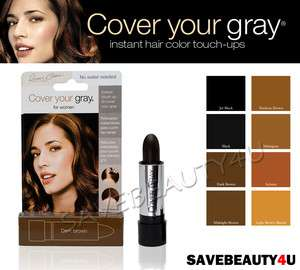 IRENE GARI COVER YOUR GRAY HAIR COLOR TOUCH UP STICK 8 COLORS