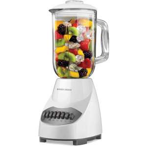 com Black & Decker 10 Speed Table Top Blender, Glass Jar Appliances