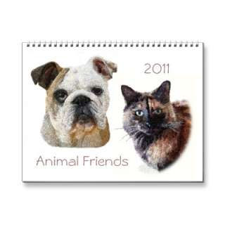 2011 Animal Friends Calendar by Granny_Pats_Gifts