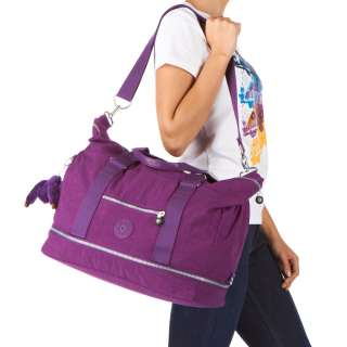 Kipling Bags   Kipling Sumida Duffle Bag   Bright Purple