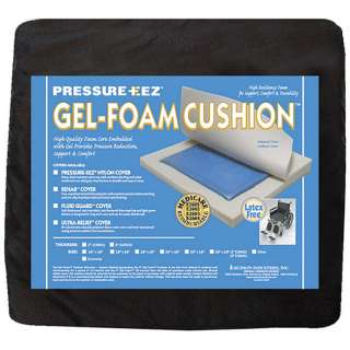 Hudson Pressure Eez Gel Foam Nylon Seat Cushion