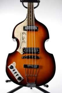 Paul McCartney Beatles Signed Hofner Guitar Caiazzo Product Image