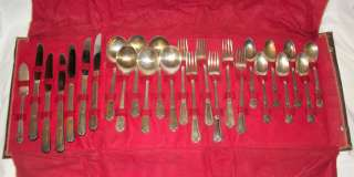 1847 Rogers Bros Silver Plate Silverware 26 Piece W M Rogers MFG Co