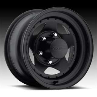 Wheel 304 Series Stealth Star Black Steel Wheels 15x10 5x4.5