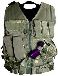 NCSTAR PVC Digital Camo ACU Reg. Airsoft Tactical Vest