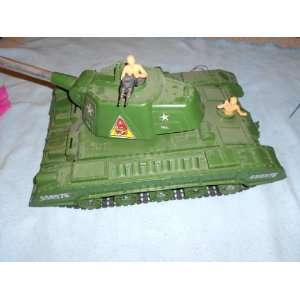 Vintage Radio Controlled Deluxe Tiger Joe Tank