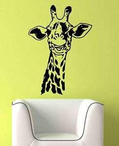 Kids Room Vinyl Wall Art Decal Sticker Giraffe Neck 31