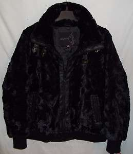 Baby Phat Black Faux FUR Winter Jacket Plus Size 4X Coat NWT