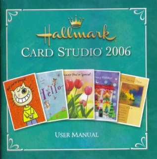 Hallmark Card Studio 2006 PC CD create customized holiday personal