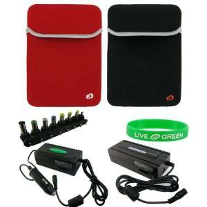 Reversible Neorpene Sleeve Case   Combo Universal Car and Wall Charger