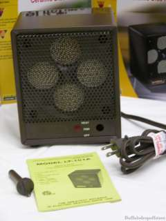 Energy Efficient Ceramic Disc Electric Space Heater