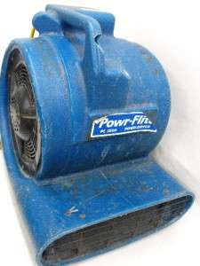 PD2500 3 Speed Electric Commercial Floor Dryer 1/2 HP 2500 CFM Blower