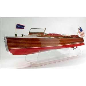 com 1930 Chris Craft Runabout Wooden Boat Kit by Dumas Toys & Games