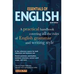 Handbook Covering All the Rules of English Grammar and Writing Style