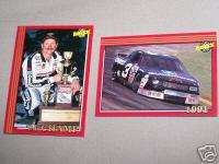 DALE EARNHARDT 91 CHAMPION 1992 MAXX RACE CARDS MINT