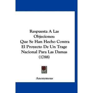 Para Las Damas (1788) (Spanish Edition) (9781120024800): Anonymous