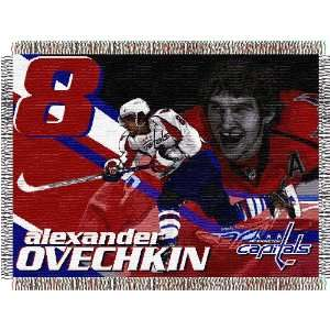 Alexander Ovechkin Washington Capitals 48x60 Woven Tapestry Throw