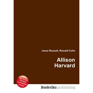 Allison Harvard: Ronald Cohn Jesse Russell: Books