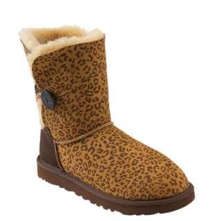 UGG® Australia Bailey Button Leopard Print Boot (Women) (
