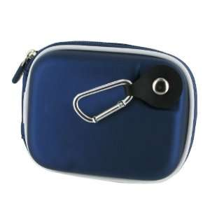 rooCASE (Med EVA Dark Blue) Hard Shell Case with Memory