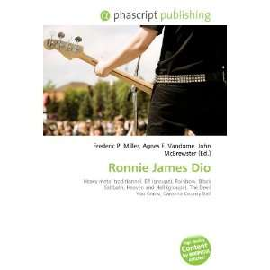 Ronnie James Dio (French Edition) (9786132730633) Books