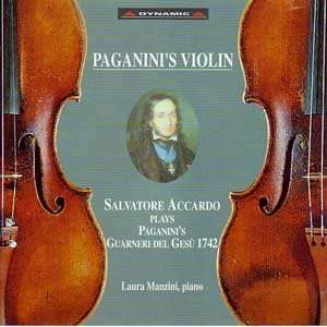 Accardo Plays Paganinis Guarneri del Gesu 1742: Zino Francescatti