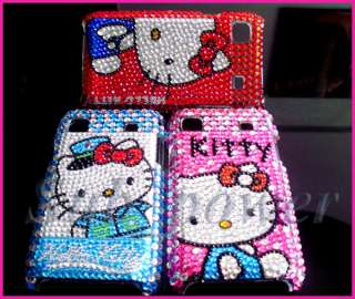3X hello Kitty Bling Case Cover Samsung Galaxy S i9000