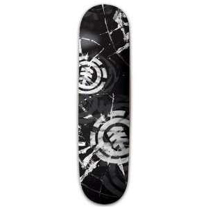Element Skateboards HEAD ON XL Skateboard Deck 8.25