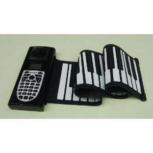 Up Folding Soft 3D Keyboard Piano Educationial Playing Piano Musical