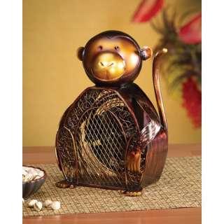Deco Breeze Monkey Figurine Table Top Fan (Set of 2