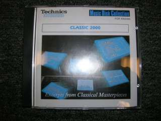 Technics Keyboard Software – Classic 2000