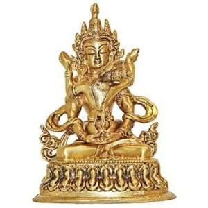 Bajra Shakti   7 Detailed Brass Statue   Made In India