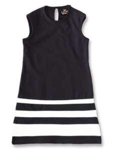 Llum Toddler & Little Girls Black & White Dress Sizes 2T 8
