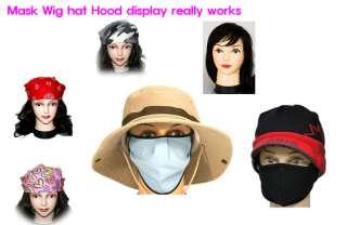 manikin mannequin Female Makeup Mask Wig hat display model Jewelry cap