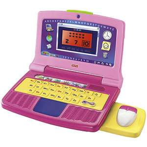 Fisher Price Fun 2 Learn Color Flash Laptop, Pink