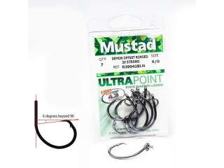 Mustad 39943BLN Demon Perfect Circle   Non Ringed Hooks   9/0   7pk