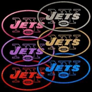 New York Jets 13 inch Window Stickers Auto Decals NFL