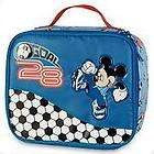new mickey mouse soccer lunchbox bag school backpack