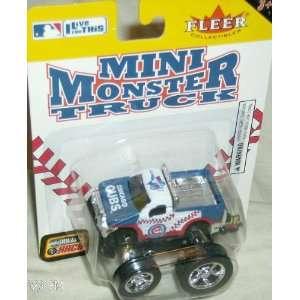 Chicago Cubs 2005 Mini Monster Truck MLB Diecast Fleer