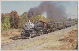 Southern Railway Postcard Railroad Train Steam Locomotive #604 Spencer