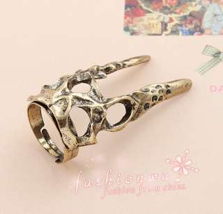 Premier Design Old Bronze Plated Two Tip Tooth Shaped Open Jewelry