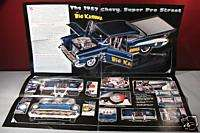 Danbury Mint 1957 Chevy Super Pro Street Sales Brochure