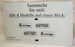 Tucher Cool Keg German Beer Toy Semi Truck & Trailer