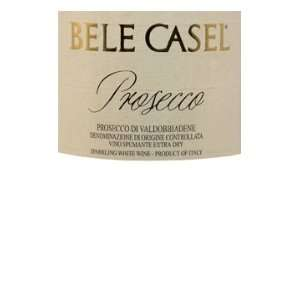 Bele Casel Prosecco NV 750ml: Grocery & Gourmet Food