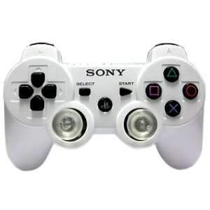 Sony PS3 White DualShock Multi Mode Turbo Action Rapid Fire Gun Mod