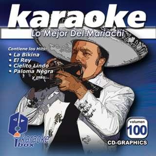 Karaoke BoxKBO 100   Lo Mejor Del Mariachi   Spanish CDG