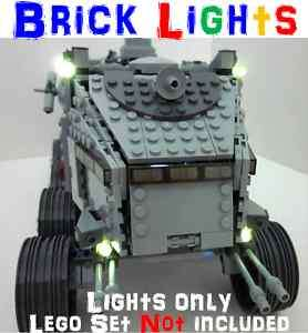 Lego BRICK LIGHTS Star Wars Clone Turbo Tank 8098 7261