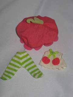 Vintage Strawberry Shortcake Baby Cherry Cuddler Outfit